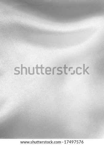 Close up Smooth Satin cloth - stock photo