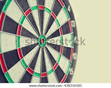 Close up target for darts. Goal concept. - stock photo