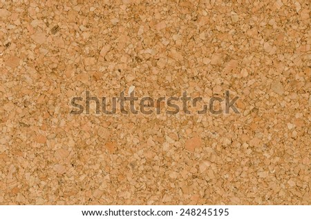 Close Up Texture  Color Detail  of Surface Cork Board Wood  Background,  Nature Product Industrial - stock photo