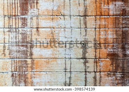 close up texture concrete wall with streaks - stock photo