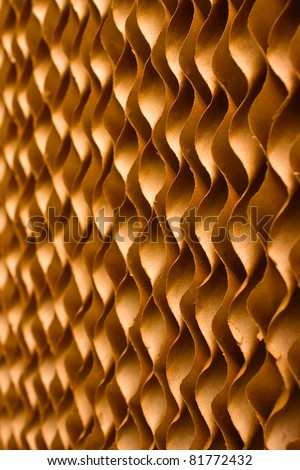 Close up texture of cooling pad - stock photo