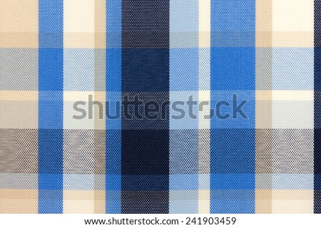 close-up texture with a checkered cloth