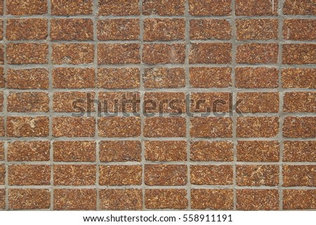 Close-up to vintage wall block background