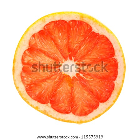 how to cut a grapefruit in half