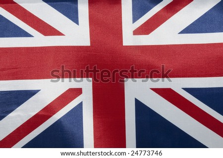 Close up view of an Australian flag. - stock photo