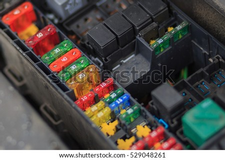 fuse stock images royalty images vectors shutterstock close up view of car fuse box control engine lighting car electrical and automobile