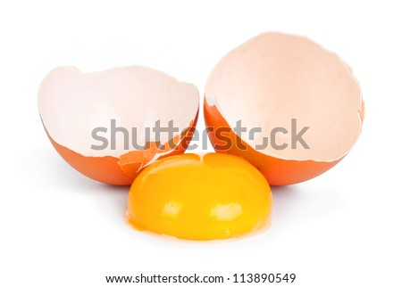 Close up view of eggs in a cartoon