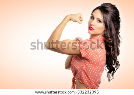 muscle woman stock images royalty free images amp vectors shutterstock