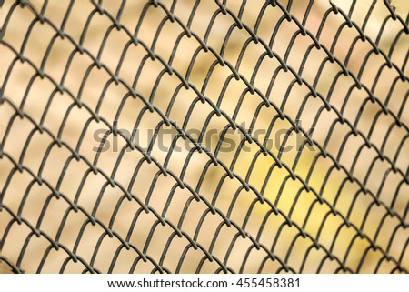 Close-up wire mesh steel