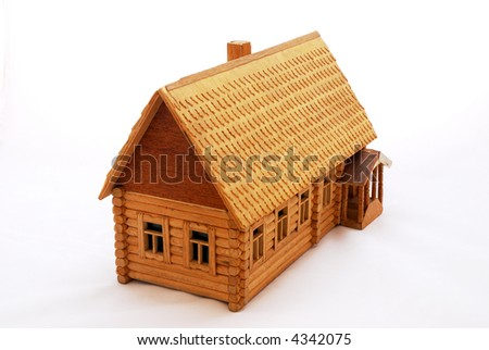 Close-up wood house
