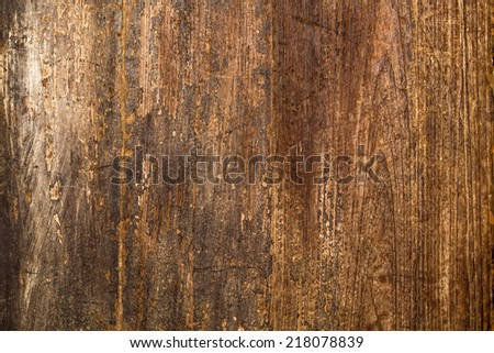 close up wooden - stock photo