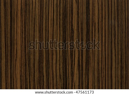 "Close-up wooden HQ ""Zebrano Negro"" texture to background"