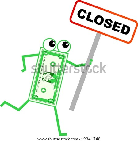 closed dollar