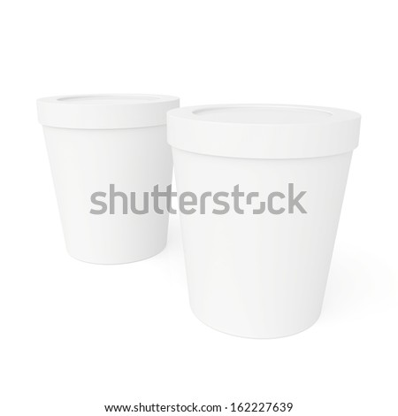 closed paper cups