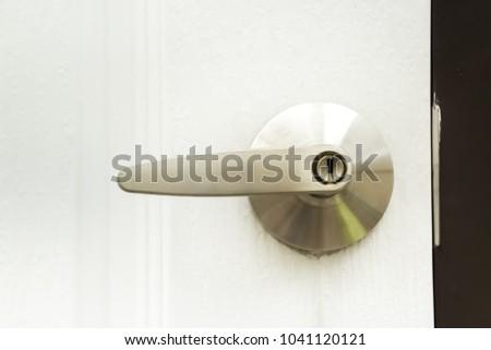 please lock door. Closed Up Doorknob, Please Lock The Door