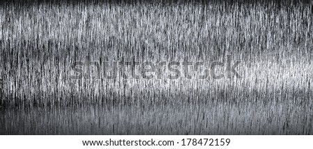 Closeup background of steel texture - stock photo