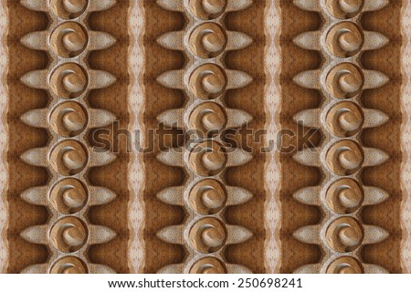 Closeup carved wood wall