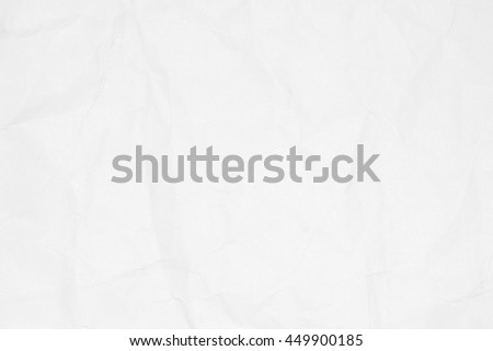 Closeup crumpled white paper texture background with copy space for text or image.