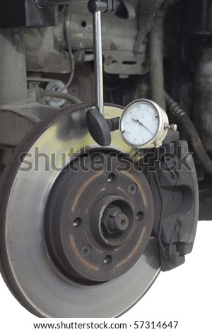 Closeup detail of the wheel - stock photo
