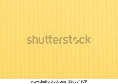Closeup detail of yellow placemat texture - stock photo