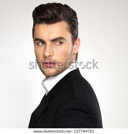 Surprising Male Hair Model Stock Photos Royalty Free Images Amp Vectors Short Hairstyles For Black Women Fulllsitofus