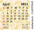 closeup illustration of a patterned albino snake skin background for april 2013 calendar. - stock photo
