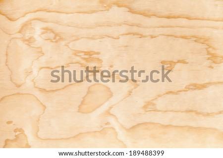 Closeup new plywood background texture. Macro photo - stock photo