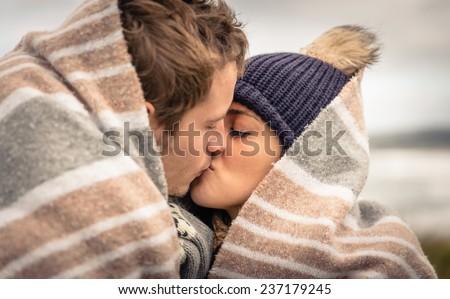 Blond Teen Kissing 119