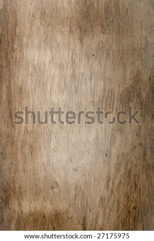 Closeup of a brown wooden texture - stock photo