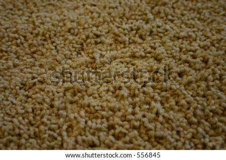 Closeup of a Carpet - Two - stock photo