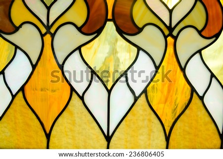 Closeup of a colored glass textured background - stock photo
