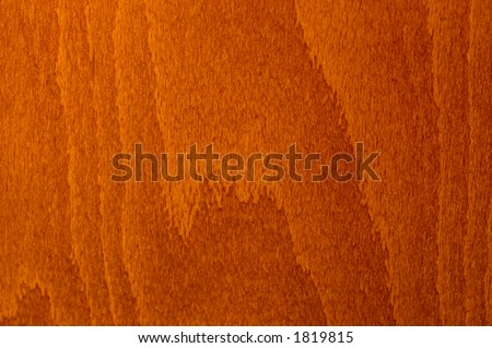 closeup of a red cherry wood texture - stock photo