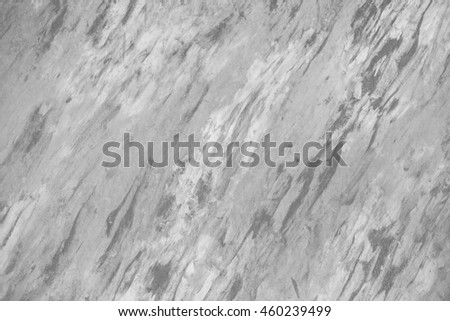 Closeup of a wall with black stripes and the background blurred. - stock photo