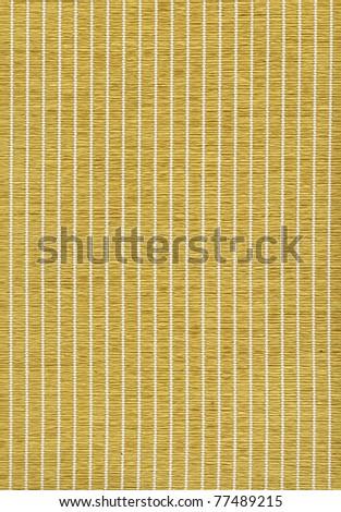 closeup of a woven bamboo mat - stock photo