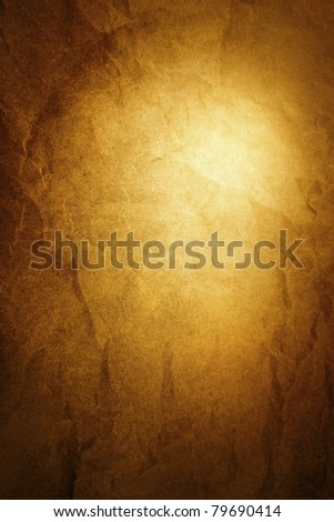 Closeup of abstract textured brown vertical background. Advertising space - stock photo