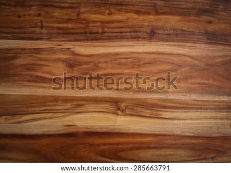Closeup of Acacia wood texture - stock photo