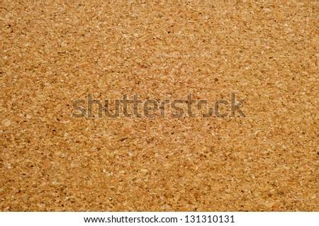closeup of an empty cork board - stock photo
