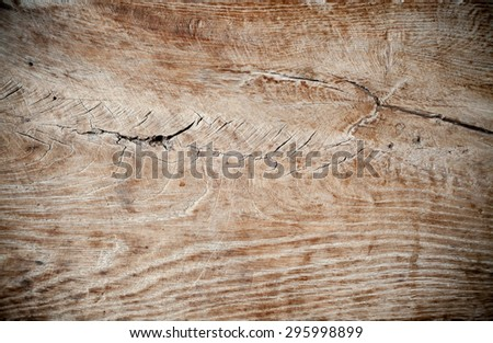 Closeup of an old wooden surface, details of a texture.  - stock photo