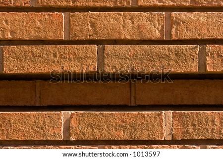 closeup of bricks - stock photo