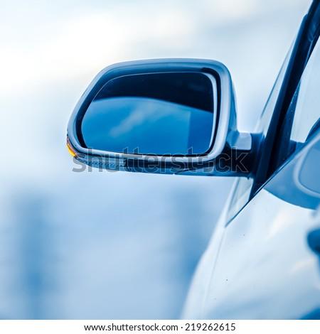 closeup of car - stock photo