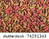 Closeup of cat food - stock photo