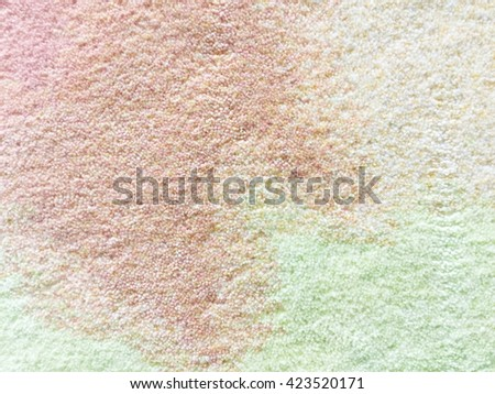 Closeup of colorful carpet texture - stock photo