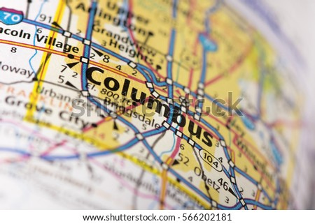 Ohio Map Stock Images RoyaltyFree Images Vectors Shutterstock