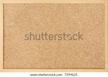 closeup of cork board - stock photo