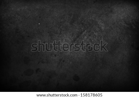 Closeup of dark grunge textured background - stock photo
