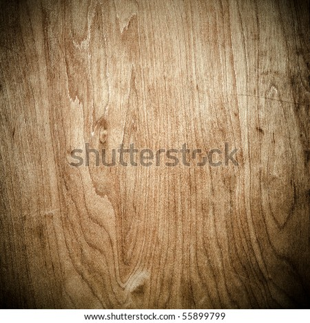 closeup of dark wood in square composition - stock photo