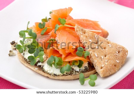 open sandwiches smoked smoked salmon eggs open faced smoked salmon ...