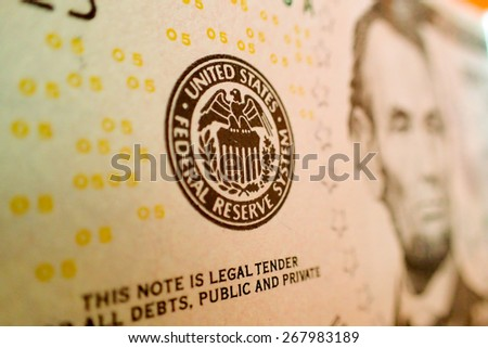 closeup of dollar - stock photo