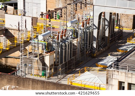 Largescale construction site foundation steel frame stock - Steel framing espana ...