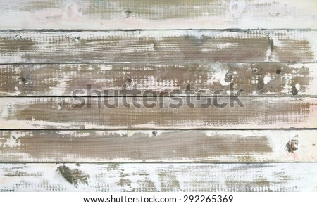 Closeup of few planks with washed color.Studio shot. - stock photo